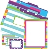 Get Organized Kit - Happy - Set of 12 File Folders, 50 Sheets Paper, 45 Labels