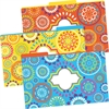 Legal-Size File Folders - Moroccan, Multi-Design Set of 9