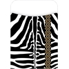 Barker Creek Peel & Stick Africa - Zebra Pockets Set of 30