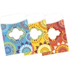 Peel & Stick Pockets - Moroccan, Multi-Design Set of 30