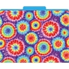 Barker Creek Tie-Dye File Folders Set of 12