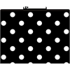 Black & White Dot File Folders Set of 12