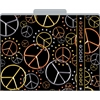 Peace File Folders Set of 12