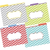 Barker Creek Chevron Beautiful File Folders, Multi-Design Set of 12