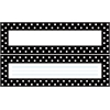 Black & White Dot Desk Tag Set of 36