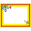 Barker Creek ABC Animals Name Tags/Self-Adhesive Labels  Set of 45