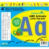 "Barker Creek ABC Animals 4"" Letter Pop-Outs (193 Characters)"