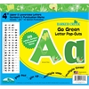 "Barker Creek Go Green 4"" Letter Pop-Outs (245 Characters)"