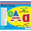"Barker Creek USA 4"" Letter Pop-Outs (245 Characters)"