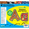 "Western 4"" Letter Pop-Outs (255 Characters)"