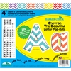 "Barker Creek 4"" Letter Pop-Outs - Chevron Beautiful  (255 Characters)"