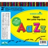 "Barker Creek Neon Mini 2"" Letter Pop-Outs (676 Characters)"