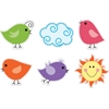 Accents - Happy Birds Set of 36