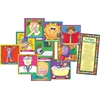 Barker Creek Healthy Habits Building Blocks Chart Set of 12
