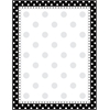Barker Creek Black & White Dot Paper 50 Sheets