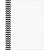 Barker Creek Computer Paper - Black Chevron  50 Sheets