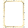 Computer Paper - Gold Computer Paper 50 Sheets
