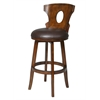 "Gauss 30"" Swivel Stool, Brown"
