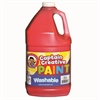 RED GALLON WASHABLE PAINT CAPTAIN CREATIVE