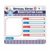 CARSON DELLOSA VOTER REGISTRATION CARD CUT OUTS