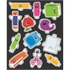 SCHOOL TOOLS SHAPE STICKERS GR PK-5