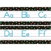DOTS ON BLACK ALPHABET TRADITIONAL MANUSCRIPT
