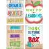 CREATIVE TEACHING PRESS UPCYCLE STYLE MOTIVATIONAL STICKERS INSPIRE U