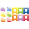 CREATIVE TEACHING PRESS PAINTED PALETTE 6IN & 3IN CUT-OUTS COMBO PACK 2