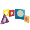 PONY MIRRORS SET OF 5