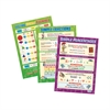 DAYDREAM EDUCATION 3 POSTER SET FRACTIONS DECIMALS AND PERCENTAGES 16.5 X 23.5