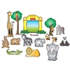 CARSON DELLOSA ZOO FRIENDS BULLETIN BOARD SET