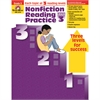 EVAN-MOOR NONFICTION READING PRACTICE GR 3