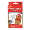 EDUPRESS INFORMATIONAL TEXT RED LVL READING COMPREHENSION PRACTICE CARDS