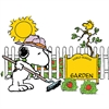SNOOPY SPRING STRAWBERRY PATCH BB ST