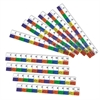 LEARNING RESOURCES TRANSPARENT INCHWORMS RULERS 10/SET