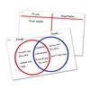 VENN DIAGRAM/T-CHART WRITE & WIPE DESK MAT