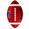FOOTBALL JUNIOR BROWN RUBBER NYLON WOUND