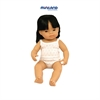MINILAND EDUCATIONAL BABY DOLLS ASIAN GIRL