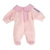 BABY DOLL CLOTHES PINK PAJAMAS