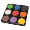 PACON TEMPERA BLOCKS 9 ASSORTED COLORS