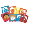 ROYLCO MIX & MATCH EMOTION STENCILS 6PK