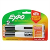 EXPO CHISEL 2 CT W/ERASER BLK