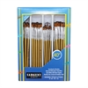 SARGENT ART BRUSH FLAT SET 40 CT