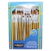 SARGENT ART BRUSH ANGULAR SET 40 CT
