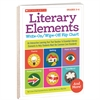 SCHOLASTIC TEACHING RESOURCES LITERARY ELEMENTS WRITE ON WIPE OFF FLIP CHART