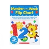 SCHOLASTIC TEACHING RESOURCES NUMBER OF THE WEEK FLIP CHART