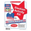 SCHOLASTIC TEACHING RESOURCES ELECTION ACTIVITY KIT INTERACTIVE MATERIALS
