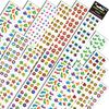 SILVER LEAD/ SANDYLION PRODUCTS JUMBO VARIETY STICKERS ASSORTMENT Q