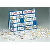 TIME & MONEY TOP POCKET CHART PORTABLE