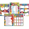 CLASSROOM BASICS FURRY FRIENDS LEARNING CHART COMBO PACK